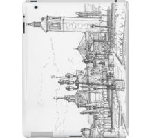 Plaza de Cervantes iPad Case/Skin