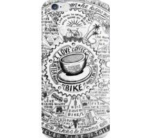 Bikes & Beans iPhone Case/Skin