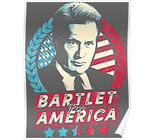 The West Wing Bartlet for America  Poster
