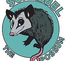 Scrabbel the Opossum by MissyLysi