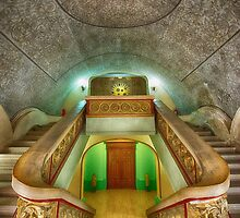 The Stairs at City Hall, Constanta, Romania by toby snelgrove  IPA
