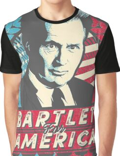 The West Wing Bartlet for America  Graphic T-Shirt