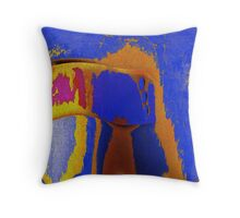 Unrelated Colors Throw Pillow
