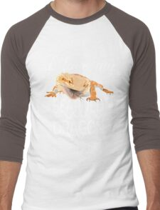 I love my bearded dragon Men's Baseball ¾ T-Shirt