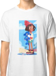 Popplio by the sea Classic T-Shirt