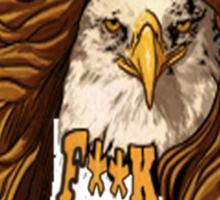Bald Eagles Sticker
