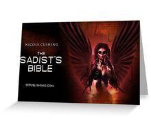 The Sadist's Bible Mug Greeting Card