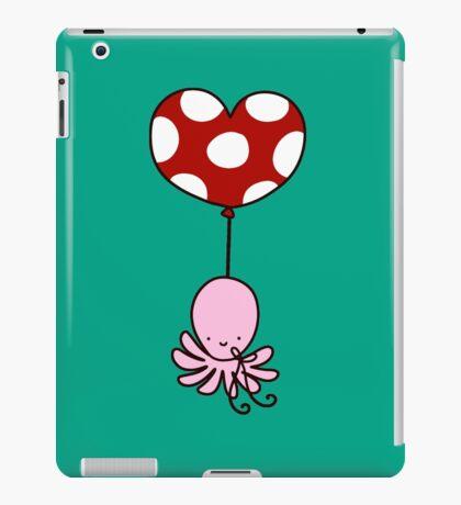 Heart Balloon Octopus iPad Case/Skin