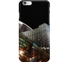 las vegas | outside the aria iPhone Case/Skin