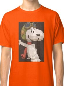 Snoopy aviador Classic T-Shirt