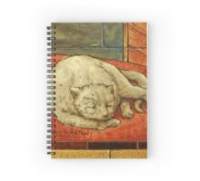 Queen Katharine & Henry VIII  - King of England Cat Spiral Notebook