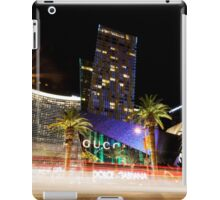 las vegas | streaking down the strip iPad Case/Skin