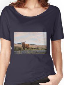 Highland Cattle Women's Relaxed Fit T-Shirt