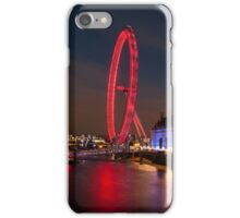 County Hall and The London Eye iPhone Case/Skin