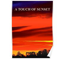 A TOUCH OF SUNSET Poster