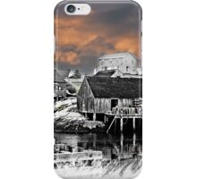 Fishing Village iPhone Case/Skin