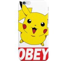 Obey Pikachu iPhone Case/Skin