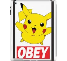 Obey Pikachu iPad Case/Skin