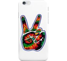 Tie-Dye Peace Sign iPhone Case/Skin