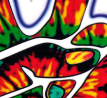 Tie-Dye Peace Sign Sticker