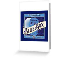 Blue Box Brewing Greeting Card