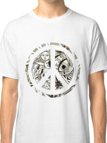 Amazing Peace Sign  Classic T-Shirt