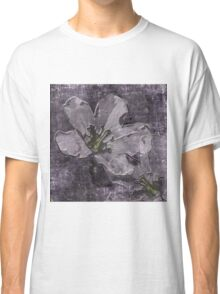 Wild Geraniums Go 3-D Classic T-Shirt