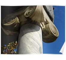 Marble Columns Poster