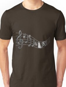 Music Borrowers t-shirt (view large) Unisex T-Shirt