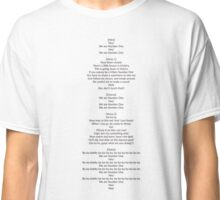 We are number one Lazy Town Robbie Rotten Lyrics Shirt Classic T-Shirt