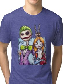 Nightmare In Gotham Tri-blend T-Shirt
