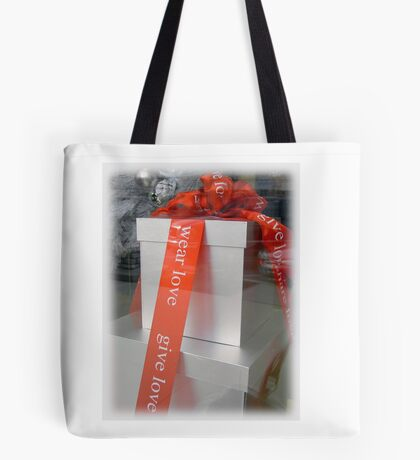 Give Love, Wear Love Tote Bag