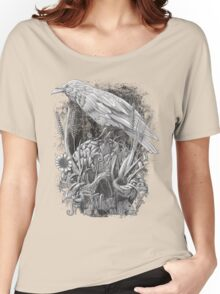 White Raven Women's Relaxed Fit T-Shirt