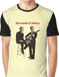 The sounds of silence Graphic T-Shirt