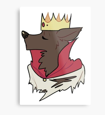 King Werewolf Metal Print