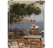 what a view - ocean serenity iPad Case/Skin