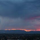 Stormy Sunset by Ann  Van Breemen