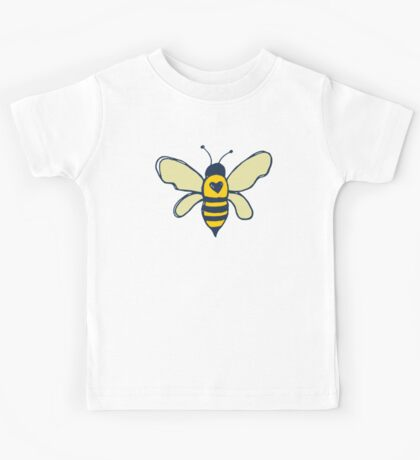 Bees and Flowers Kids Tee