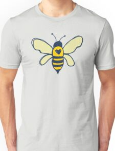 Bees and Flowers Unisex T-Shirt