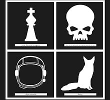 Brand New (band) Minimalistic Album Covers  by KoleReedGarcia