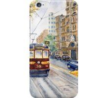Vintage Tram, Melbourne iPhone Case/Skin
