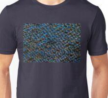 Wooden romb pattern - seamless texture Unisex T-Shirt