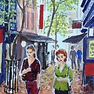 Hardware Lane 2, Melbourne by Virginia  Coghill