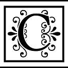 Letter C Monogram by imaginarystory