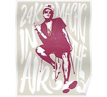 24k magic Poster