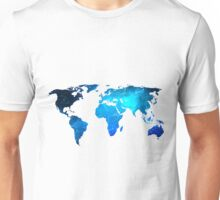 Wold Map Unisex T-Shirt