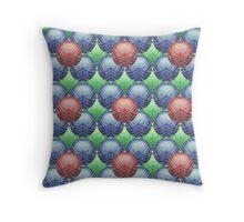 SharpWebs Repeating Pattern (Big) Throw Pillow
