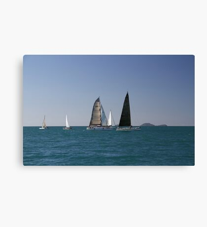 Whitsunday Sailing Club. Canvas Print