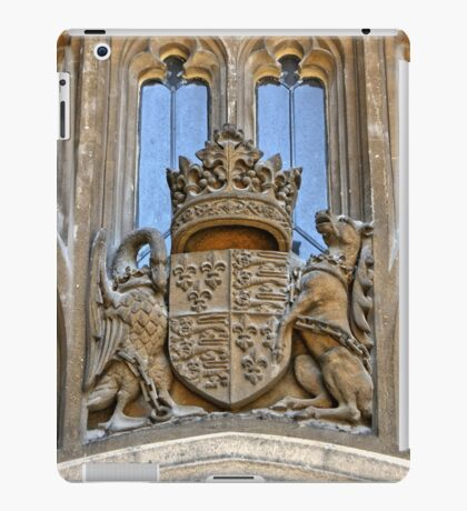 Royal Coat of Arms at Windsor iPad Case/Skin