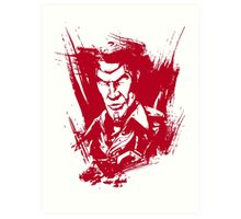 I Am Jack's Complete Lack of Surprise. (Borderlands) Art Print
